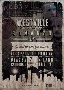Flyer-Westville-News-Presentazione-Romanzo-westville-in-Milano
