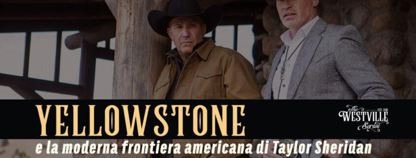 taylor sheridan yellowstone copertina